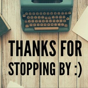 THANK YOU SO MUCH FOR TAKING A LOOK AT MY SHOP